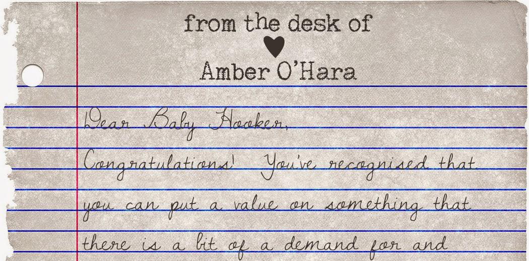 Dear Baby Hooker…